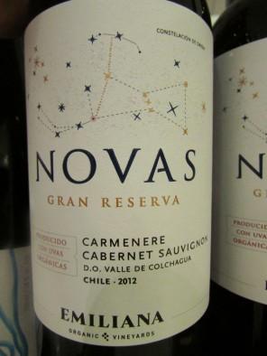 Emiliana - Novas (2012) Carmenere-Cabernet Sauvignon Gran Reserva 01