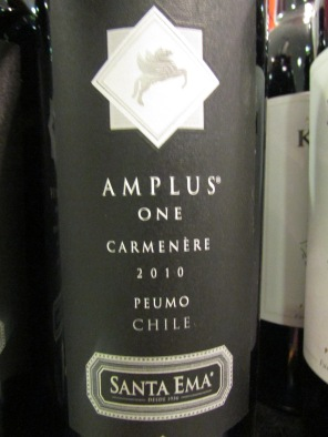 Santa Ema - Amplus One (2010) Carmenere 01
