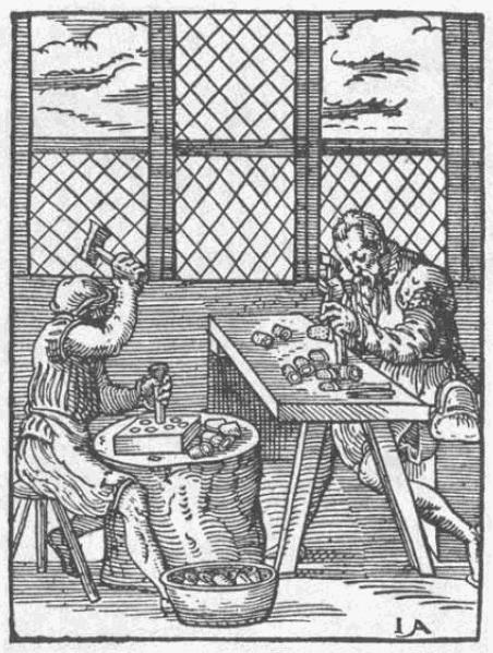 Der Fingerhüter, 'fabricantes de dedales