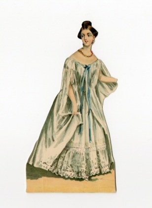 Muñeca de papel de la Reina Victoria