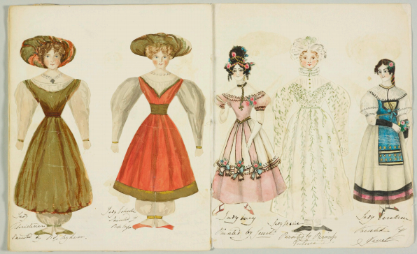 Muñecas de papel de la princesa Victoria