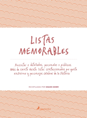 'Listas memorables' de Shaun Usher