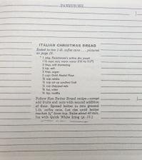 Cuaderno de recetas de Marguerite Yourcenar, p. 101