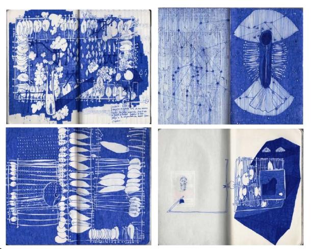 7 Cuadernos Manon Harrois