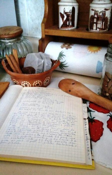 10- El recetario de mi madre