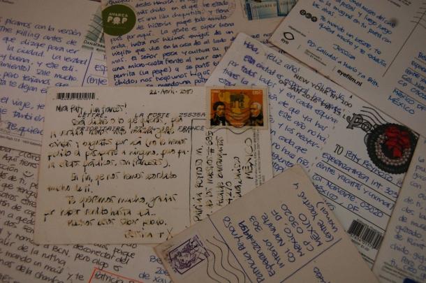 4- Postales de mi hermana