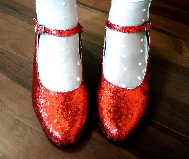 5- Zapatos de rubí