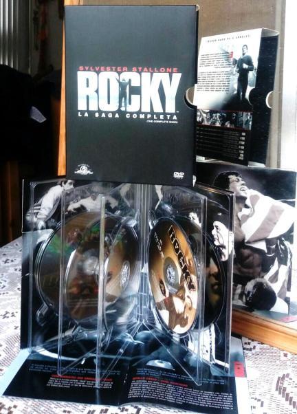 9- La saga (casi) completa de Rocky