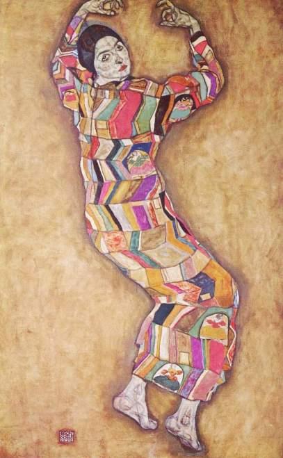Egon_Schiele-Portrait_of_Friederike_Maria_Beer__1914