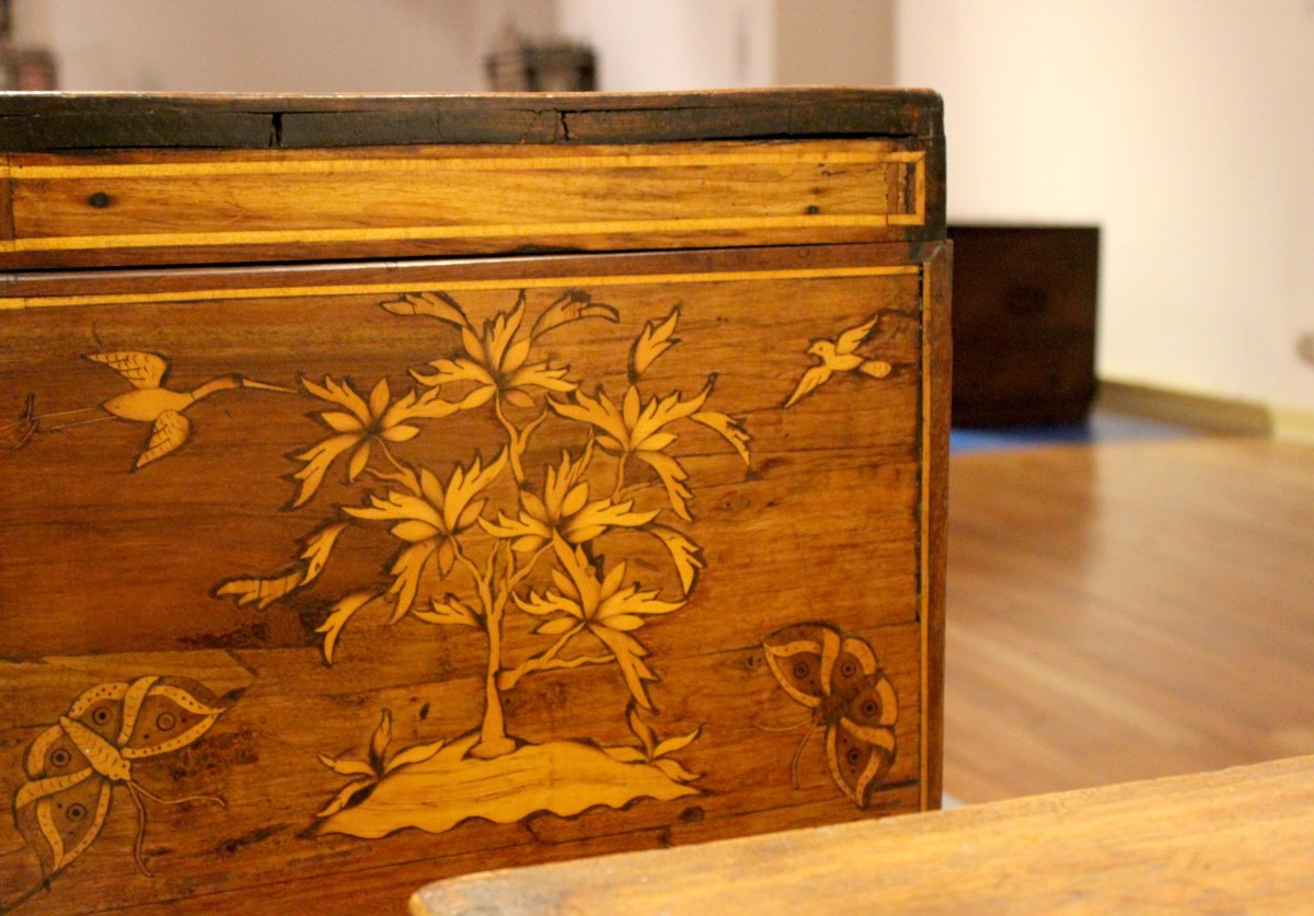 Muebles de guardar. Exposición en el Museo de Artes Decorativas