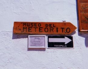 Meteoritos–y pueblos–originarios. Visita al Museo delMeteorito.